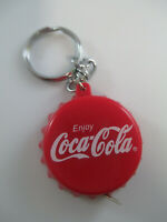 Coca-Cola Measuring Tape Keychain Red With Script Logo