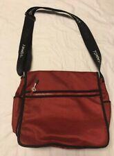 Tommy Hilfiger Crossbody Messenger Shoulder Business Computer Book Red Bag