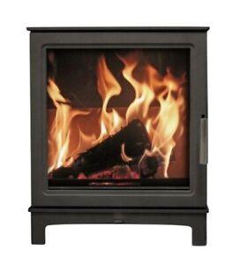 MI Grisedale Eco-Design Ready Wood Burning Stove / Brand New -Boxed . /Defra .