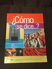 Como se dice...?, Enhanced, Jarvis 10th edition book & student activities manual