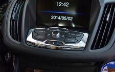Ford Kuga Chrom Abdeckung für Radio Bedinung TDCI ST ab Bj.2012