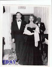 Howard Duff Ava Gardner candid 1949 VINTAGE Photo