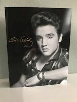 Brand New Mint Elvis Presley Collectors Edition 2017 Stamp Folder - 25 $1 Stamps