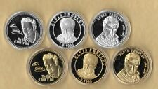 6~ Elvis Presley 1935 - 1977 Gold & Silver Collector Coin The King Of Rock Music