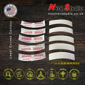 Supertape A (Least Curved) Contour Strips - Strong Wig Tape - DOUBLE SIDED TAPE