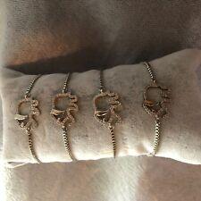 ELEPHANT Adjustable Bracelet Charm Women SILVER HIGH QUALITY