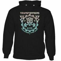 Transformers Gym Hommes Musculation Capuche Haut Entraînement Fitness Mma Fit