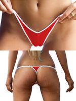 SEXY CAMELTOE BAYWATCH RED WHITE NURSE SANTA CLAUS THONGS TANGAS BIKINI BOTTOM