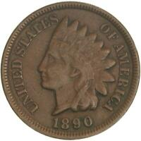 1890 Indian Head Cent Very Fine Penny VF