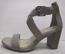 Ecco Size EUR 39 US 8 8.5  Block Heel Dress Sandals Moon Rock New Womens Shoes