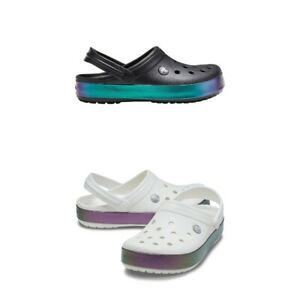 Crocs Crocband Iridescent Band Clog Unisex Clogs | Slippers | garden shoes - NEW