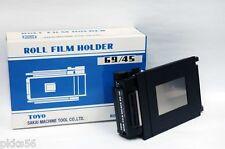 Toyo (Toyo-View) 69 / 45 (6x9 / 45) Film Holder / Film Back