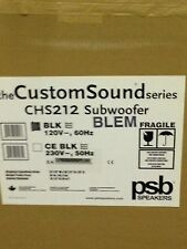 PSB CHS212 In-Cabinet Active Subwoofer B Stock