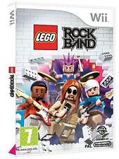 Wii-LEGO Rock Band /Wii GAME NEW