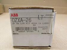 1 NIB ABB OZXA-26 OZXA26 3P SW LUG KIT 400 AMP 6 LUGS