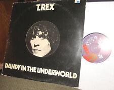 MARC BOLAN AND T REX dandy in the underworld LP die cut window! '77 rare WOW EMI