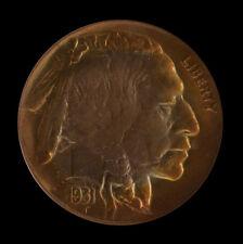 1931-S NGC MS64 Target Toned Buffalo Nickel
