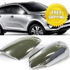 Chrome Side Mirror Cover Molding Garnish K342 For KIA 2011-2015 2016 Sportage R