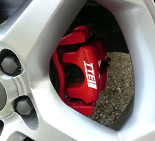 Toyota TTE Team Europe Brake Caliper Calliper Decals Stickers