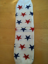 my little legs LEG WARMERS red and blue stars style  NEW