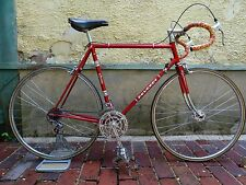 Vélo course ancien PEUGEOT PR10 SUPER CHAMPION Arc-en-Ciel MAILLARD old bike
