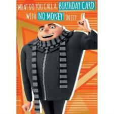 Despicable Me 3 Minion Gru 'No Money' Card