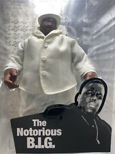 Mezco Notorious B.I.G. Biggie Smalls Action Figure NEW IN PACKAGING WHITE COAT