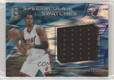 2016-17 Panini Spectra Spectacular Swatches Neon Blue /99 Hassan Whiteside #31