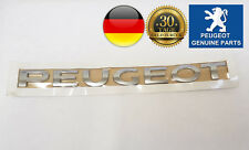 Peugeot 307 308 3005 5008 Emblem Plakette Schriftzug Logo Heckklappe ORIGINAL
