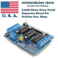 L293D Motor Drive Shield Expansion Board For Arduino Duemilanove Mega UNO USA