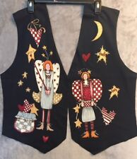 8 Sets ~ Alma Lynne Vest Panels, Angels, Pre-Cut, Turn any shirt into a vest!
