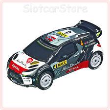 """Carrera GO 64156 Citroen DS3 WRC """"No.4 M.Ostberg"""" 2015 Rally Catalunya 1:43 Auto"""