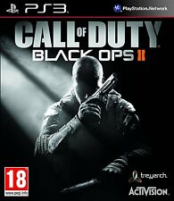 CALL OF DUTY BLACK OPS II (2) Playstation 3 PS3 - GOOD - 1st Class Delivery
