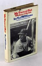 Signed Ted Williams 1969 My Turn at Bat Story of My Life Hardcover w/Dustjacket