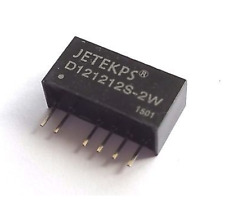 2pcs DC-DC Converter Isolated Power In 10V-16V Double Out 12V 121212 2W 84mA UL