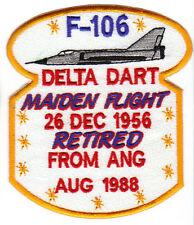 F-106 DELTA DART MAIDEN FLIGHT PATCH, 26 DEC 1956     Y
