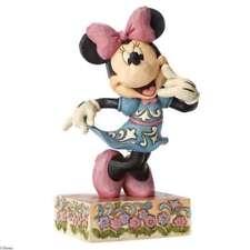 Disney Showcase Traditions Jim Shore CALL ME Minnie Mouse Figurine 4049638 NIB