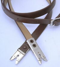 Brown Leather shoulder Neck Strap for Rolleiflex 2.8F 3.5F TLR Photo Accessories