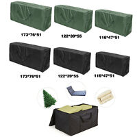 Furniture Cushion Storage Bag Cover Case Patio Heavy Duty Outdoor Storage Cover