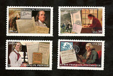 4021-24 Benjamin Franklin Set Of 4 Mint/nh (Free shipping offer)