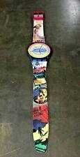 "Rare 1992 40""  Maxi Swatch Clock MGN127 The Originals Postcard Edition Vintage"