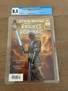 STAR WARS KNIGHTS OF THE OLD REPUBLIC 9  1ST APPEARANCE OF RAVEN! 8.5 - cgc tag