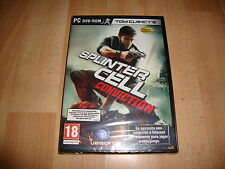 SPLINTER CELL CONVICTION DE UBISOFT PARA PC NUEVO PRECINTADO