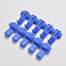 30x Blue Electrical Cable Connectors Quick Splice Lock Wire Terminals Crimp  MEU