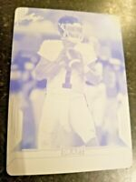 KYLER MURRAY Leaf Draft Press Plate ROOKIE Set of all 3 Printing Press Plates RC