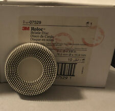 """Scotch-Briteâ""""¢ Rolocâ""""¢ Bristle Disc, 3 in x 5/8 Tapered 120"""