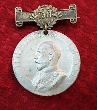 PRE WW1 1911 THE KINGS MEDAL LONDON COUNCIL