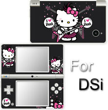 Hello Kitty Punk Cute SKIN DECAL VINYL STICKER COVER for Nintendo DSi
