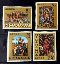 Nicaragua Stamp Set Sc C655-C658 Mint Never Hinged