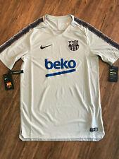 Nike FC Barcelona Fussball Shirt   Neu   Nike   Grau   Größe M